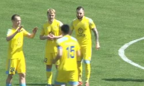 Видеообзор матча Премьер-Лиги «Ордабасы» — «Астана» 1:4