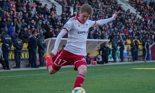 Игрок «Актобе» на правах аренды переходит в клуб Первой лиги