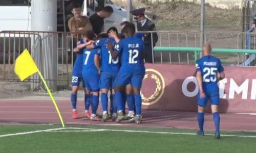 «Атырау» в меньшинстве забил два гола и вырвал ничью у «Жетысу»