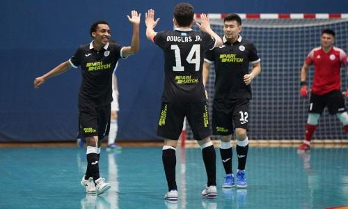 «Кайрат» разгромил «Аят» в первом полуфинальном матче плей-офф чемпионата РК