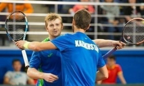 Казахстанские теннисисты вышли в четвертьфинал турнира в Хорватии