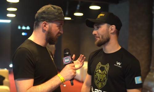 Сергей Морозов рассказал о планах на подготовку ко второму бою в UFC