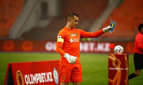Стас Покатилов сыграл 100-й матч за «Кайрат» в КПЛ
