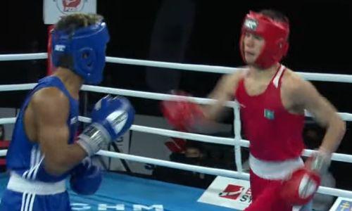 17-летний казахстанский боксер деклассировал латиноса на МЧМ-2021