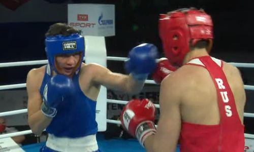 Видео боя, или Как Казахстан потерял второго боксера на молодежном чемпионате мира-2021
