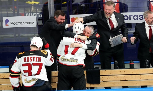 Финал конференции «Барыса» стал историческим для КХЛ