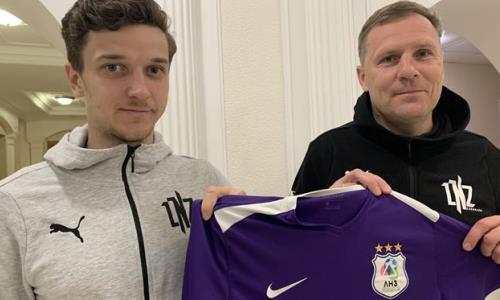 Бывший хавбек «Окжетпеса» подписал контракт с любительским клубом в Европе