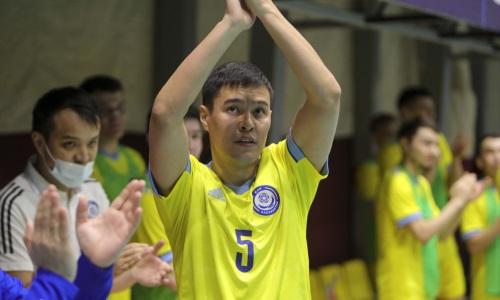 Опубликован видеосюжет о прощальном матче легенды казахстанского футзала