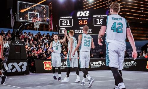 Казахстан возглавил мировой рейтинг стритбола