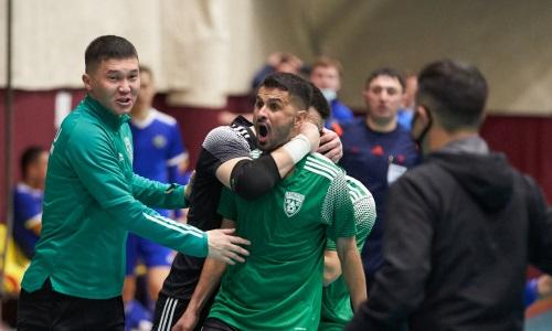 «Атырау» вырвал победу у «Актобе» в концовке матча плей-офф чемпионата РК