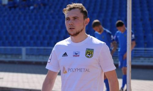 Игрок казахстанского клуба сыграл юбилейный матч за свою команду