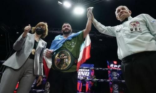 Уроженец Казахстана завоевал титул чемпиона WBC