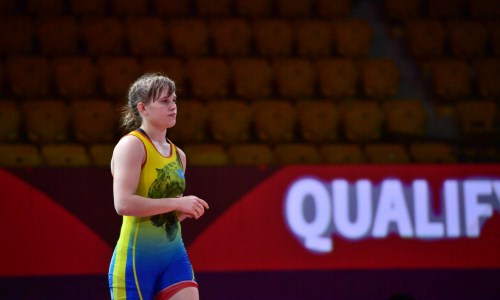 Казахстанка проиграла в схватке за третье место на чемпионате Азии по женской борьбе
