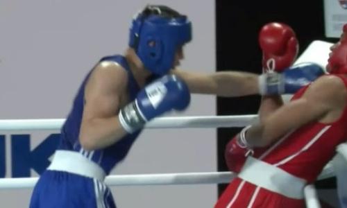 Видео боя, или Как казахстанец до последнего рубился с топовым кубинцем на МЧМ-2021