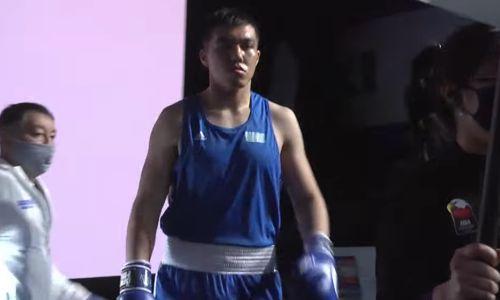 Казахстанский супертяж отправил в нокдаун, но проиграл узбеку на старте МЧМ-2021