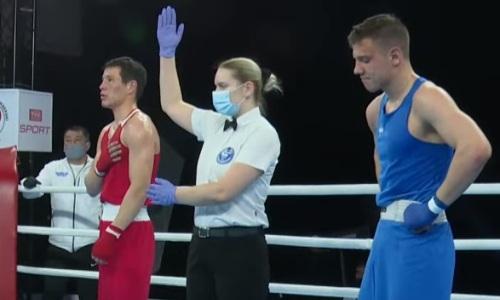Еще один казахстанский боксер оформил нокаут на молодежном чемпионате мира-2021