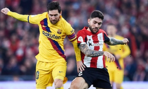 Прямая трансляция матча «Атлетик» — «Барселона» в финале Кубка Испании