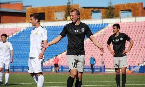 «Экибастуз» в родных стенах уступил «Кырану» в матче Первой лиги