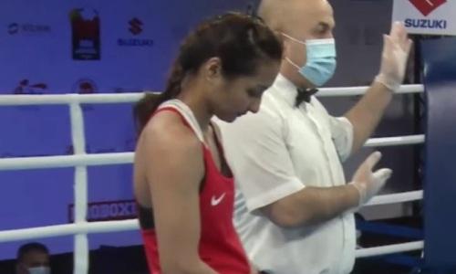 Казахстанская боксерша не смогла пробиться в четвертьфинал МЧМ-2021