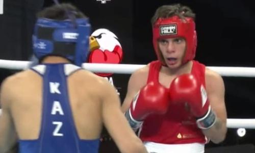 Казахстанский боксер отправил в нокдаун и победил тиктокера