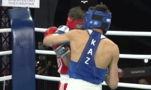 Видео боя, в котором казахстанский боксер отправил в нокдаун и избил тиктокера
