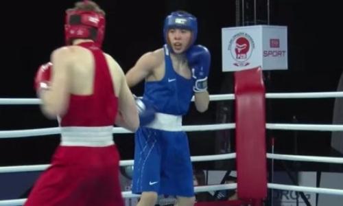 Казахстанский боксер побывал в нокдауне, но нокаутировал чемпиона Латвии на МЧМ-2021