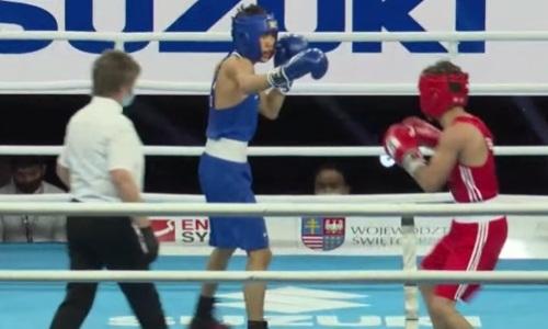 Скорость молодого казахстанского боксера восхитила AIBA. Видео