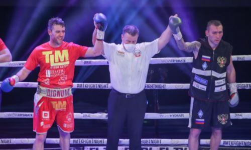 Российского боксера засудили в главном бою вечера за титул в весе Головкина. Видео