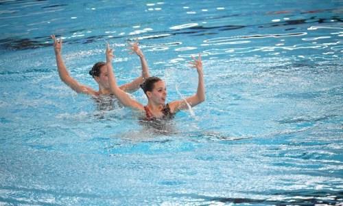 Казахстанцы завоевали две медали на этапе Кубка мира по артистическому плаванию