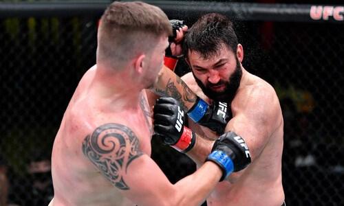 Белорусский боец догнал легендарных файтеров по количеству побед в UFC. Видео