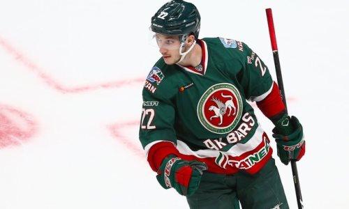 Выступавший в НХЛ нападающий «Ак Барса» может оказаться в «Барысе»