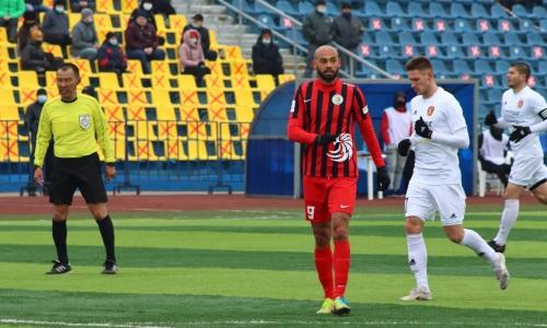 Бразильский нападающий «Кызыл-Жара СК» не сыграет против «Астаны»