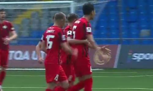 Видео гола Касыма матча Премьер-Лиги «Астана» — «Кызыл-Жар СК»