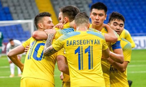 Ожидаемо. «Астана» победила «Кызыл-Жар СК» в домашнем матче КПЛ