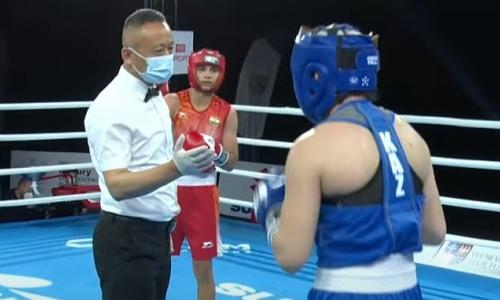 Казахстанская боксерша проиграла в четвертьфинале МЧМ-2021
