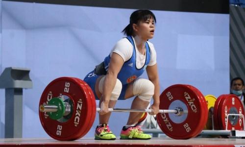 Казахстанская спортсменка стала пятой на чемпионате Азии по тяжелой атлетике в Ташкенте