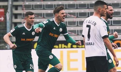 Немецкий клуб экс-игрока молодежной сборной Казахстана спасся от поражения на 95 минуте