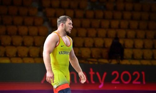 Казахстан завоевал еще одно «золото» чемпионата Азии по вольной борьбе
