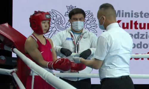 Еще одна казахстанская боксерша гарантировала стране медаль молодежного ЧМ-2021