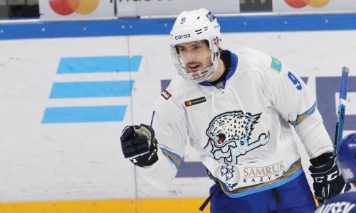 «Барыс» обратился к хоккеисту сборной Казахстана, которым интересуется другой клуб КХЛ