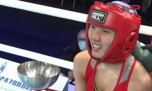 Казахстанская боксерша проиграла в четвертьфинале хозяйке МЧМ-2021