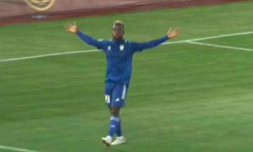 Видео гола Нкоби матча Премьер-Лиги «Туран» — «Каспий»