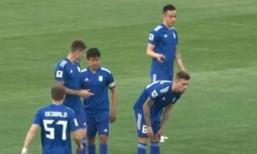 Видеообзор матча Премьер-Лиги «Туран» — «Каспий» 2:2