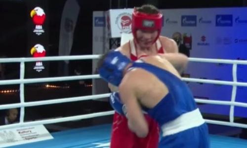 Видео боя, или Как казахстанский боксер разобрался с литовцем за медаль МЧМ-2021