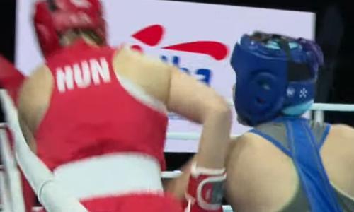 Чемпионка Казахстана побывала в нокдауне и проиграла первый же бой на МЧМ-2021