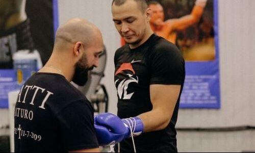 «Сделай так, чтобы я зашёл в клетку». Казахский файтер UFC обратился к своему менеджеру и оставил сообщение сопернику