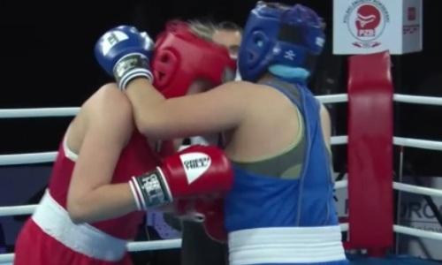 «Боже мой!». Казахстанка проиграла, но привела в восторг комментаторов AIBA. Видео