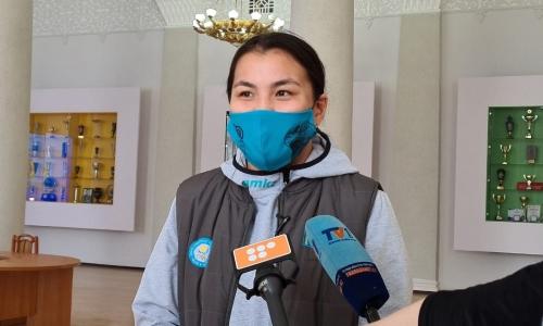 Сыздыкова рассказала о победном выступлении на чемпионате Азии и настрое на ОИ-2021