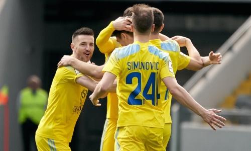 «Астана» обошла «Кайрат» в рейтинге лучших клубов Европы