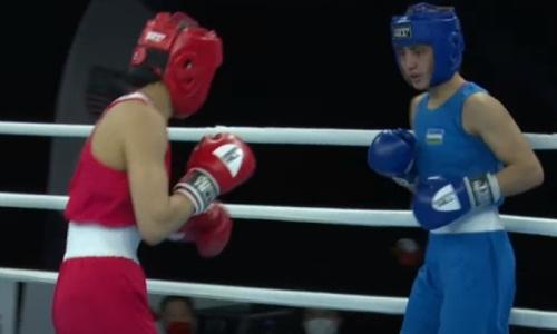 Казахстанская боксерша победила узбечку и стала первой финалисткой МЧМ-2021